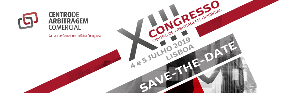 XIII Congresso Centro Arbitragem CAC save the date